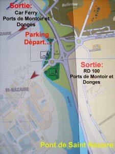 Départ au Port du Brivet
