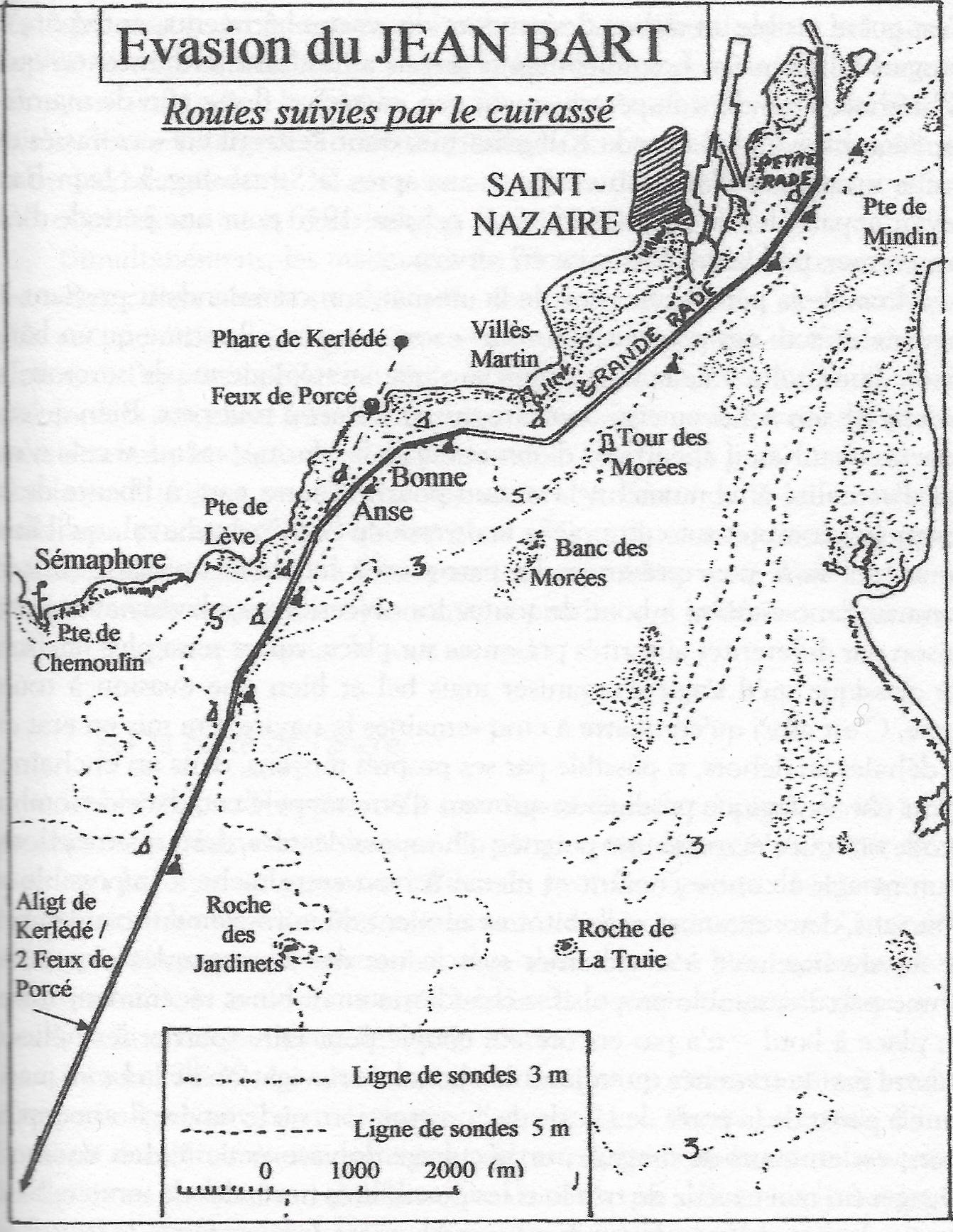 Evasion du Jean-Bart- in Pierre Guillou- Pilote de Loire- Geste editions- 2008.